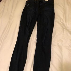 AG jeans The Middi midrise legging size 25R